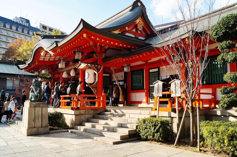 Sanctuaire Ikuta-jinja