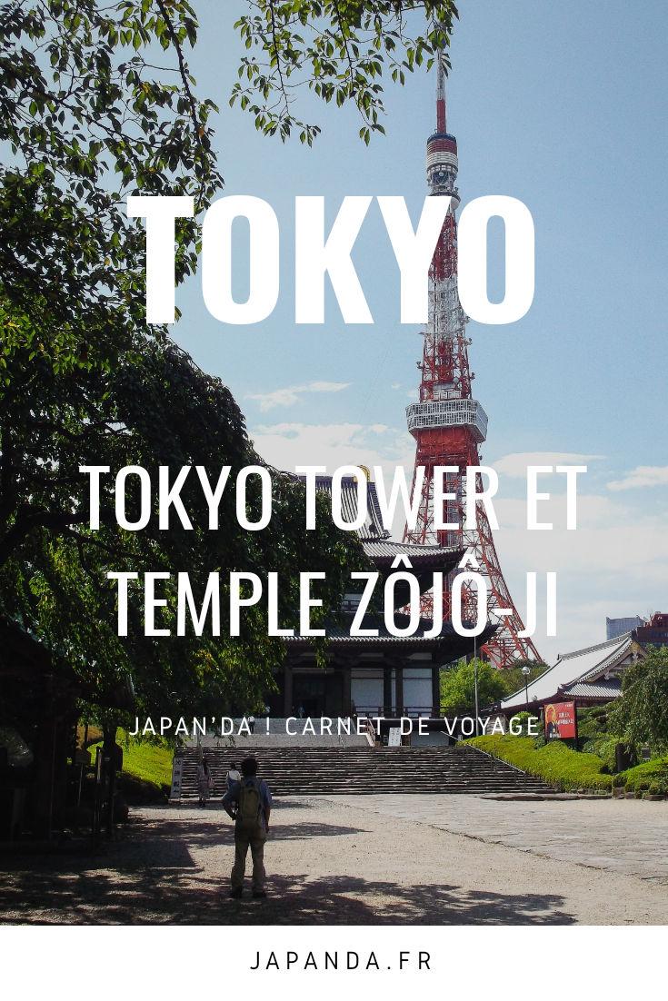 Tokyo Tower Temple Zôjô-ji