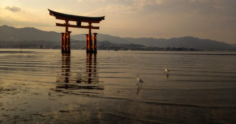 Sanctuaire Itsukushima et son Torii