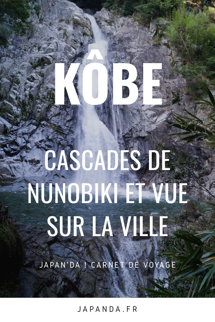 Cascades de Nunobiki Pinterest