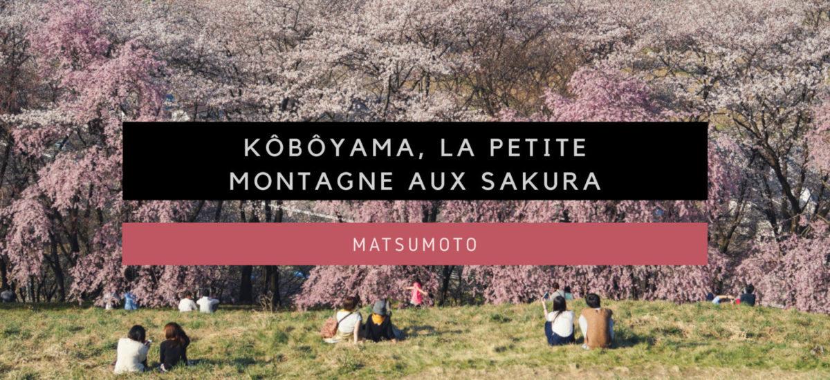 [Matsumoto] Kôbôyama, la petite montagne aux Sakura