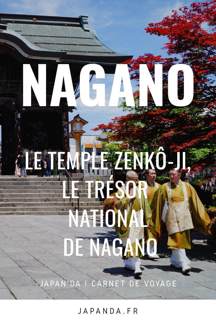 Temple Zenkô-ji Pinterest