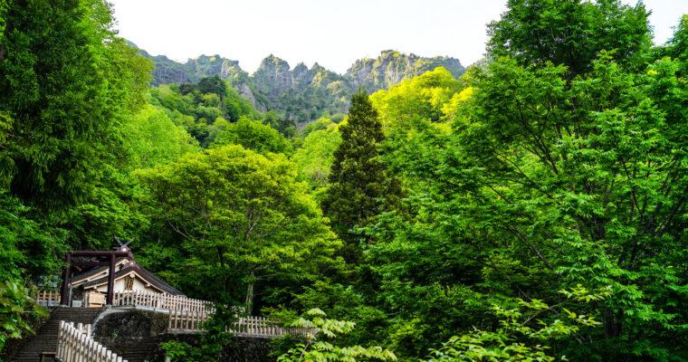 Le Togakushi-jinja 戸隠神社 et la légende d'Amaterasu (Nagano)