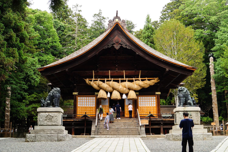 Sanctuaire Suwa-taisha