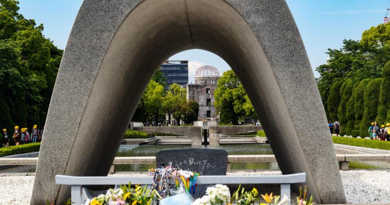 Genbaku Dôme 原爆ドーム et Peace memorial Park 広島平和記念公園