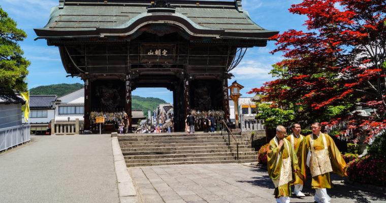 [Nagano] Le temple Zenkô-ji, le trésor national de Nagano