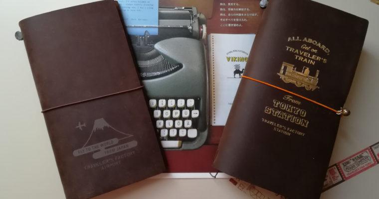 Midori Traveler's Notebook : Narita Airport Edition et Tokyo Station Edition