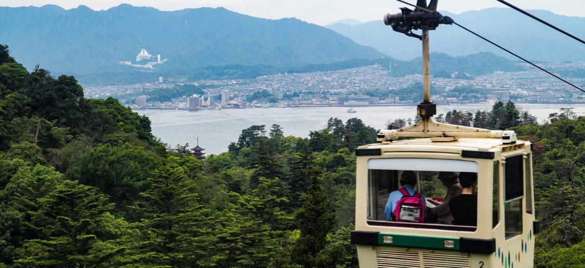 Observatoire Shishiiwa 獅子岩展望台, Miyajima