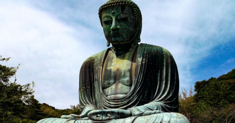 Le temple Kôtoku-in 高徳院 et le Grand Bouddha 大仏 de Kamakura