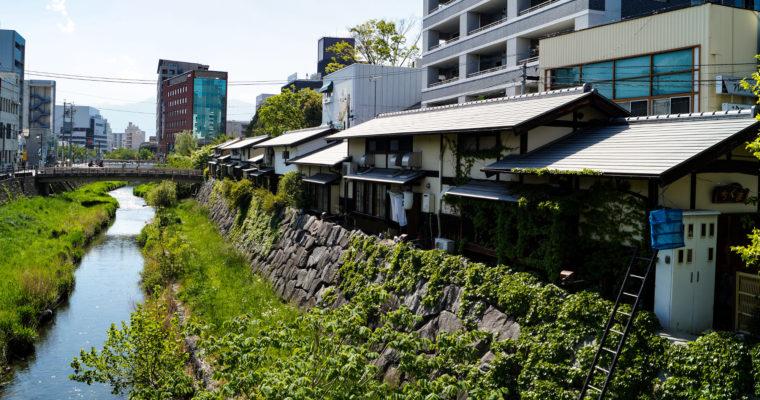 Balade à Nawate-dôri 繩手通り et au Sanctuaire Yohashira-jinja 四柱神社, Matsumoto