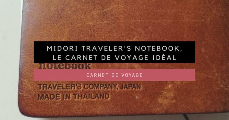 <h1>[Carnet de Voyage] Midori traveler's notebook : le Carnet de Voyage idéal</h1>