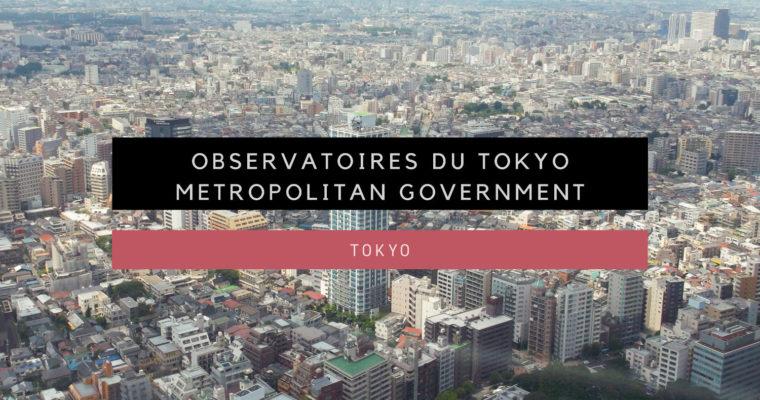 <h1>[Tokyo] Observatoires du Tokyo Metropolitan Government</h1>