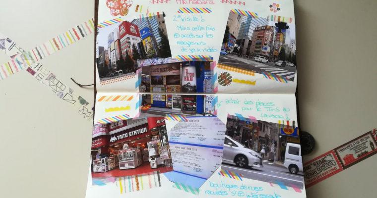 "Midori Traveler's Notebook : ""Mon Tokyo"" Partie 02"