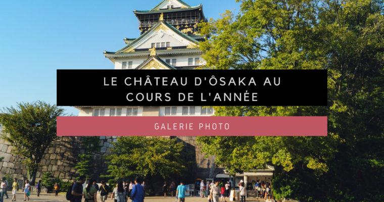 <h1>[Galerie Photo] Le château d'Ôsaka au cours de l'année</h1>