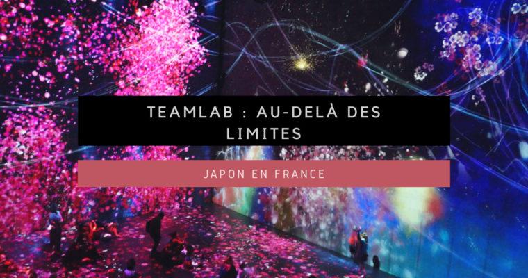 teamLab : Au-delà des limites