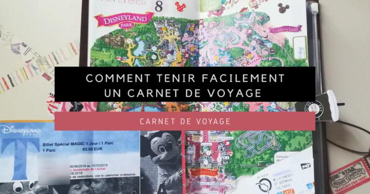<h1>[Carnet de Voyage] Comment tenir facilement un Carnet de Voyage</h1>