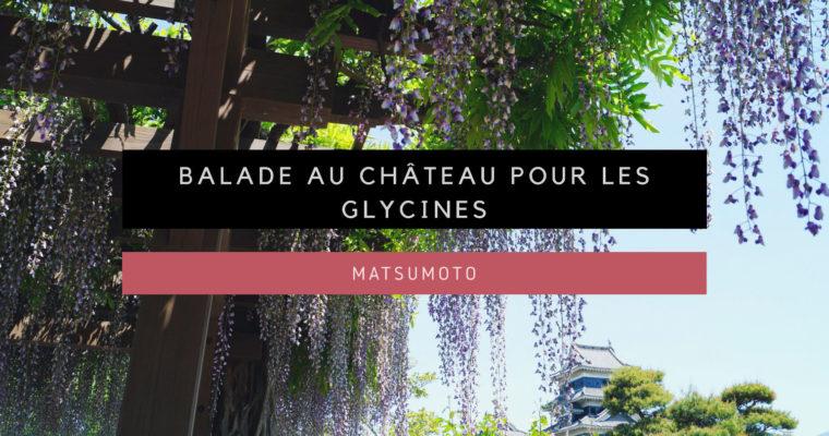 <h1>[Matsumoto] Balade au Château de Matsumoto pour les Glycines</h1>