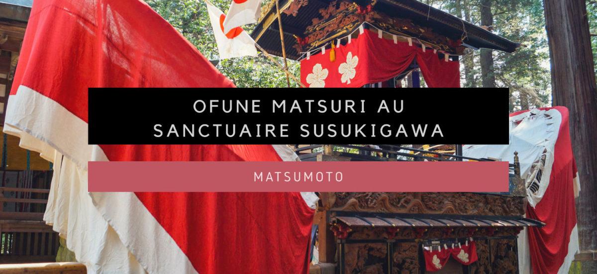 [Matsumoto] Ofune Matsuri au sanctuaire Susukigawa-jinja