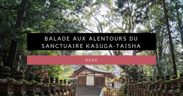 <h1>[Nara] Balade aux alentours du sanctuaire Kasuga-taisha</h1>
