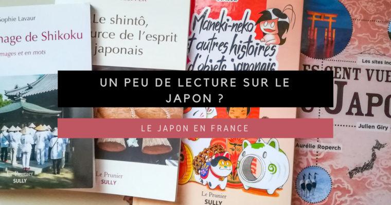 <h1>[Le Japon en France] Un peu de lecture sur le Japon ? (01)</h1>