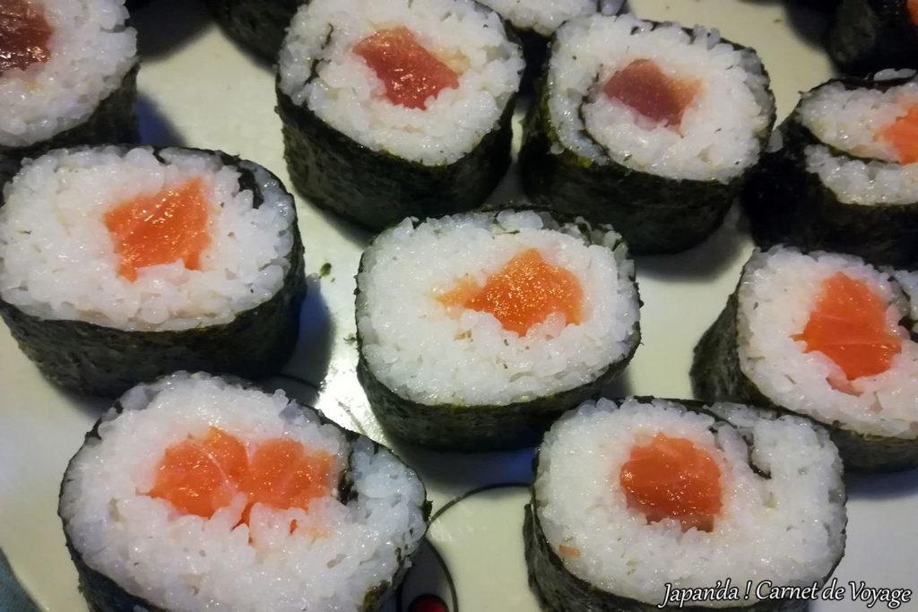 Nourriture japonaise sushi