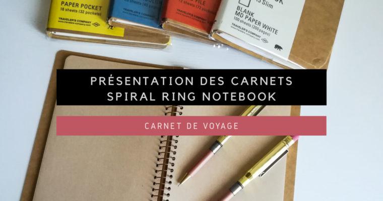<h1>[Carnet de Voyage] Présentation des carnets Spiral Ring Notebook</h1>