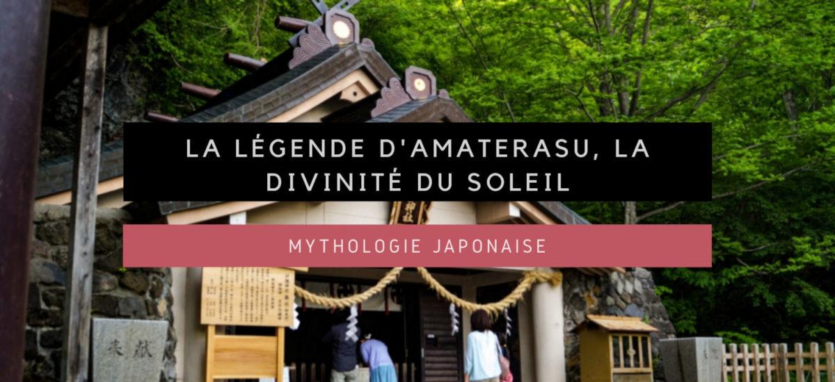 [Mythologie japonaise] La légende d'Amaterasu, la déesse du soleil