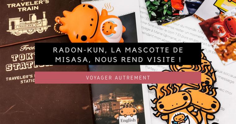 <h1>[Voyager Autrement] Radon-kun, la mascotte de Misasa, nous rend visite !</h1>